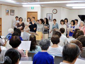 みんなで楽しく歌う会(2016-6-23)
